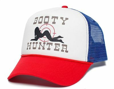 Booty Hunter Unisex - Adult Curved Bill Truckers Cap Hat Snapback Pick Color