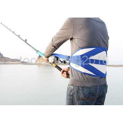 Big Game Fishing Fighting Stand Up Back Harness Cushion Rod Holder Offshore