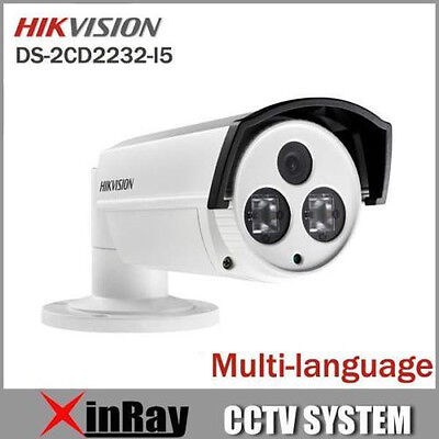 Hikvision DS-2CD2232-I5 Full HD 3MP IP66 IR EXIR A proiettile Network Camera 6mm