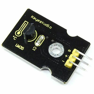 Keyestudio LM35 Temperature Sensor Module KS-022 Arduino Analog Flux Workshop
