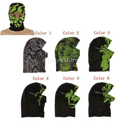 Breathable Balaclava Outdoor Sports Motorcycle Cycling UV Protect Full Face Mask