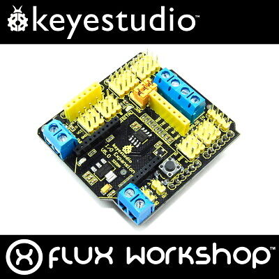 Keyestudio Arduino UNO I/O Expansion Shield KS-164 Xbee RS485 MEGA Flux Workshop