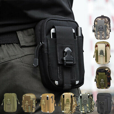 Outdoor Tactical Waist Bag Fanny Pack Camping Hiking Fishing Belt Molle Pouch