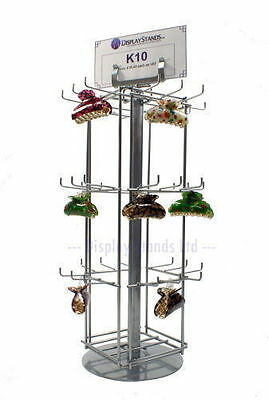 36 Hook Rotating Counter Top Retail Shop Display Stand (K10)