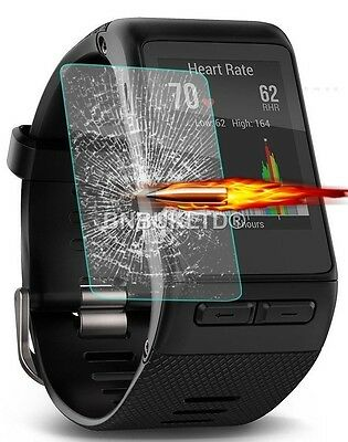 Tempered Glass Screen Protector for Garmin Vivoactive HR Fitness Watch