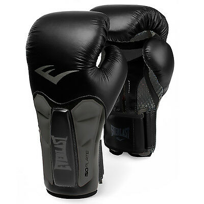 Everlast Prime Leather Heavy Boxing Bag Training Gloves Fight Punch Mitts