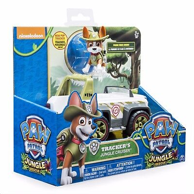 PAW Patrol, Jungle Rescue, Tracker's Jungle Cruiser, Vehicle and Figure NEW