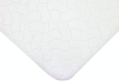 American Baby Company Waterproof Quilted Flat Bassinet Protective Pad 2856