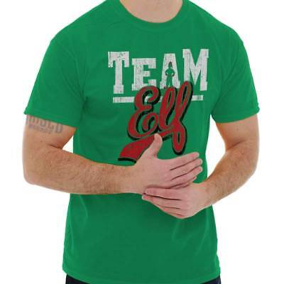 309d2cf68 TEAM ELF UGLY Christmas Sweater Funny T Shirts Gift Ideas Ladies T ...