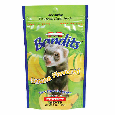 Marshall Bandits Premium Ferret Treat - Banana Flavor - 3 oz