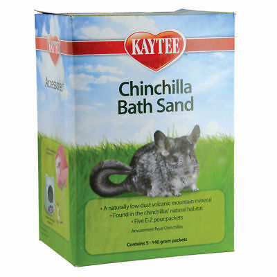 Super Pet Chinchilla Bath Sand - 5 pk