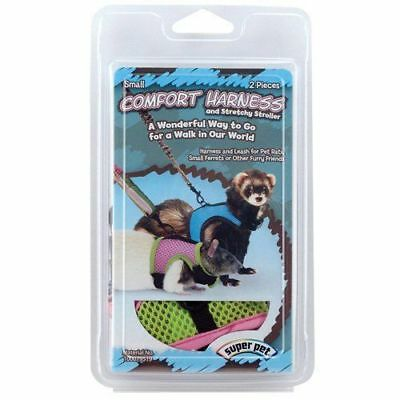 Super Pet Comfort Harness & Stretchy Stroller - Assorted - Small