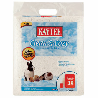 Kaytee Clean and Cozy Small Pet Bedding - 1000 cu in - White