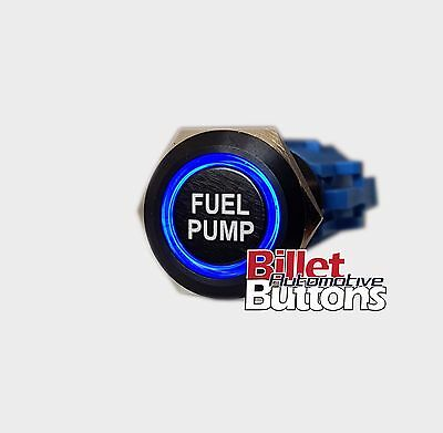 Electric Fuel Pump switch button black billet led holley magnafuel aeromotive