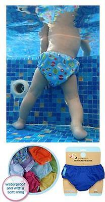 New Charlie Banana Organic  Extraordiary Swim Diaper Pant Reusable Cloth Toddler