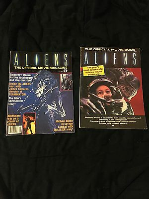 Aliens Official Movie Magazine & Book - Starlog 1986 1st Print VG/NM  NO Poster