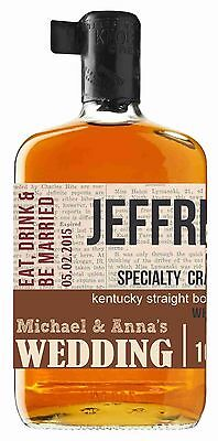Personalized Knob Whiskey Labels