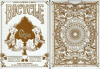 Chic Deck Bicycle Playing Cards Poker Size USPCC Custom Limited Edition Sealed
