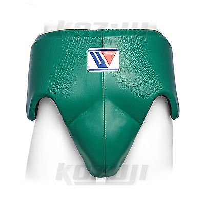 Winning Boxing Groin Protector CPS-500 Green, Standard Cut, New from Japan