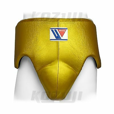 Winning Boxing Groin Protector CPS-500 Gold, Standard Cut, New from Japan