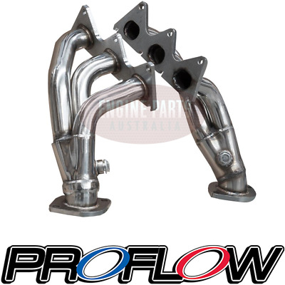 Proflow Stainless Steel Exhaust Headers Extractors Holden Commodore Ve V6 3.6L