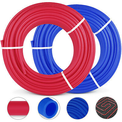2 Rolls 1/2″300Ft Pex Tubing Pipe Non-Barrier Applications Radiant Potable Water