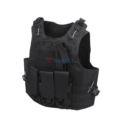 Police Officer Security Guard Law Enforcement Equipment Heavy Duty SWAT Vest