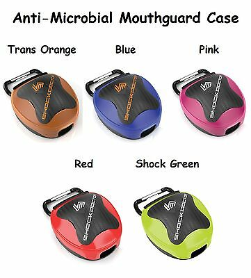 Shock Doctor Anti-Microbial Mouthguard Case +