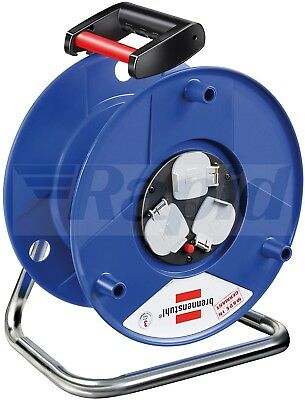 Brennenstuhl 1208013 Garant Cable Reel without Cable GB