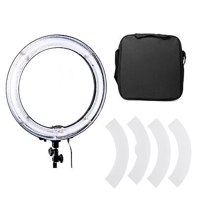 "18"" Fluorescent 75W Dimmable Ring Light for Studio Portrait Youtube Shooting"