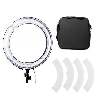 "19"" Fluorescent 75W Dimmable Ring Light w/ Bag Portrait Light Photo Video Studio"