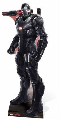 Pappaufsteller (Stand Up) Captain America Movie Civil War - War Machine ( 191 cm