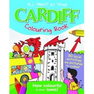 Cardiff Colouring Book (All About My Town), New, John MacGregor Book