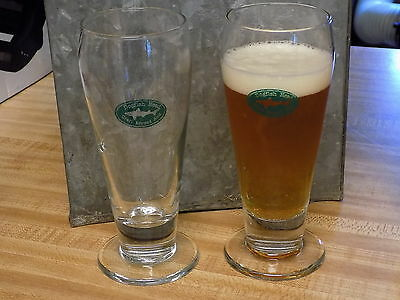 Dogfish Head Ale Footed Beer Glass 10 oz.- BrandNewInBox *Buy One or Many*  NR