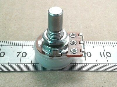6.0mm Round Shaft Solder Lug 16mm Linear Potentiometer, Mono B Lin Pot RSL60