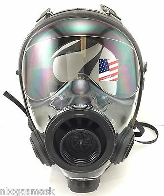 Mestel Safety SGE 400/3 NBC 40mm NATO Tactical Gas Mask BRAND NEW - Made in 2017