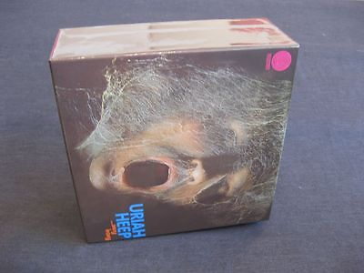 "URIAH HEEP, Japan CD Mini-LP PROMO BOX ""Very 'eavy very 'umble"", Empty box !"