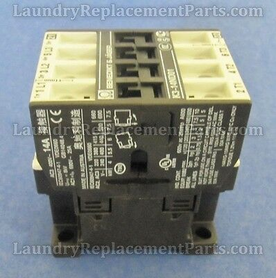 Relay, 240/60 12A,3N.0 + 1N.c For Wascomat Part# 510109