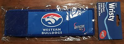 AFL Bulldogs WRISTY 3 IN 1 STUBBY HOLDER WALLET FOOTBALL Clearance