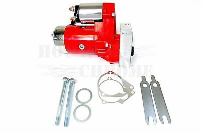 Mini 3.0 Horsepower Chevy Starter Ls1 High Torque Red Finish