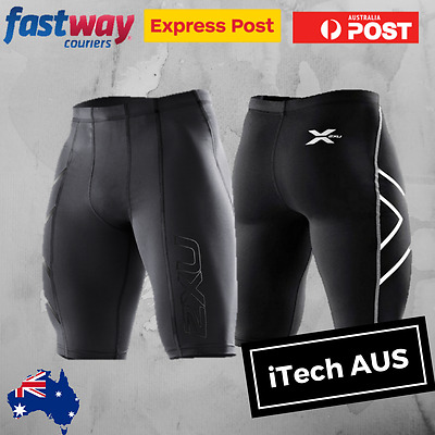 2XU Mens Compression Shorts Sportswear Skins Bike Cycling | Brand New with Tags