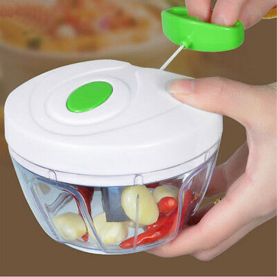 Vegetable Onion Garlic Food Chopper Cutter Slicer Peeler Twister Kitchen Cracker