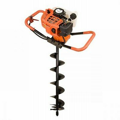 NEW 52cc 2 Stroke Petrol Commercial Dynamic Power Post Hole Digger + 200mm Auger