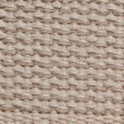 "New   1.25"" Heavy Cotton Webbing Natural"