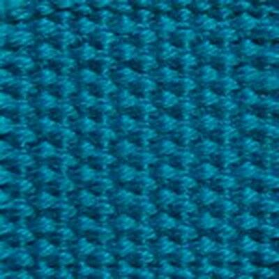 "New   1.25"" Heavy Cotton Webbing Turquoise"