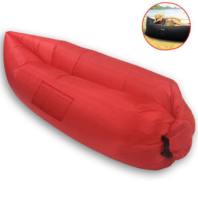 Chill Chair Portable Large Inflatable Lounge/Couch/Seat Outdoor/Camp/Beach Red