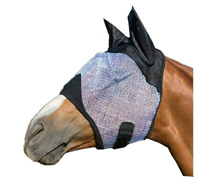 NEW Fly+Mask+Veil w/ Ear protectors Happy Horse Ballistic FlyMask PONY COB FULL