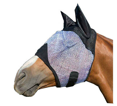 NEW Fly+Mask+Veil with Ear protectors Happy Horse Ballistic FlyMask PONY COB FUL