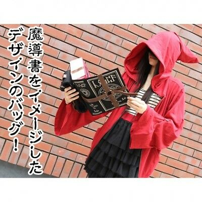 NEW!! Grimoire Book of Magic Design Bag Japan Anime Cosplay from Japan F/S