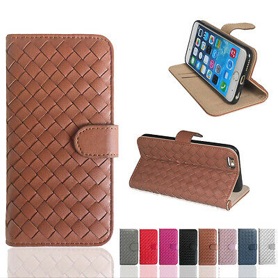 Wallet Flip PU Leather Phone Case Cover For Samsung S6 Edge S7 Apple iPhone 6/6s